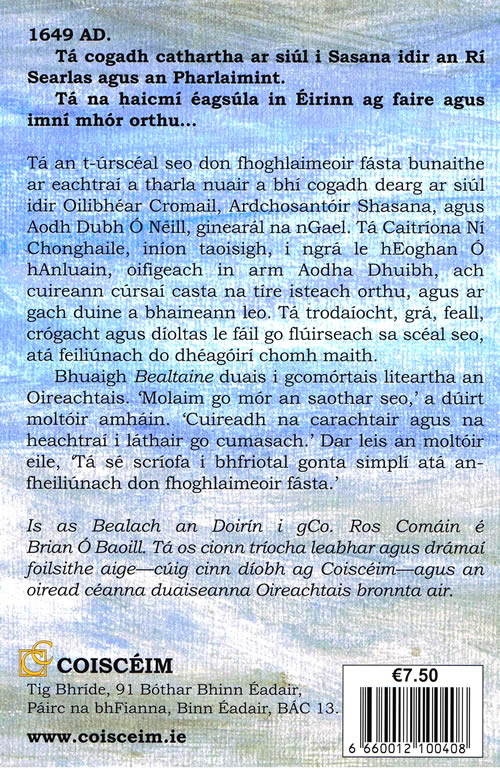 Bealtaine Byoltanna Brian O Baoill Irish novel for adult learners
