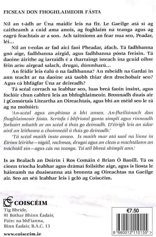 Dumhach Trá Briain Ó Baoill Sandymount Irish book for learners and teenagers