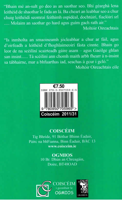Jócleabhar Beag Bídeach na Gaeilge Gaelic Joke book Irish joke book Irish jokes Gaelic Jokes Laughter funny hilarious jokes in Irish Gaelic Luaghter is the best medicine
