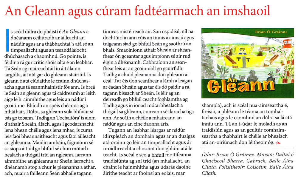 An Gleann In Touch Magazine Intouch InTouch June 2011